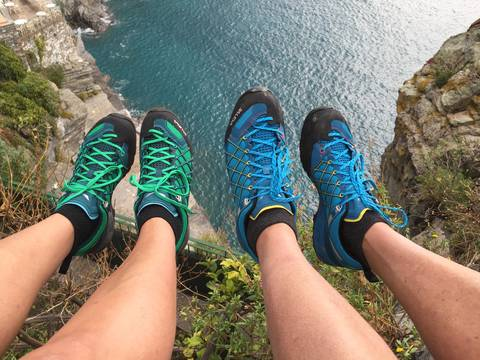Image Title: New Italian Shoes from Vernazza Sport. [Photo: Open Door Travelers]