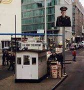 Image Title: Checkpoint Charlie. [Photo: Open Door Travelers]