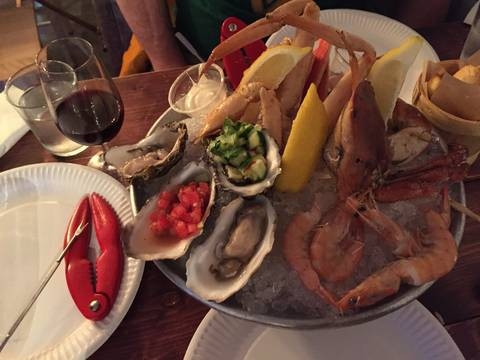 Image Title: Crab Legs at Klaw in Dublin [Photo: Open Door Travelers]