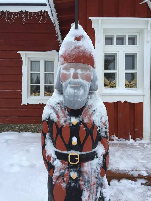 Image Title: Santa's North Pole Home [Photo: Open Door Travelers]