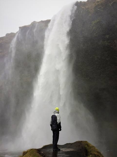 Image Title: Seljalandsfoss Water Fall in Iceland. [Photo: Open Door Travelers]